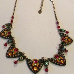 Vintage Adaya statement necklace